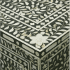 Black Mother of Pearl Chest of Drawers 2