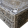 Black Mother of Pearl Inlay Desk 2