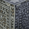 Charcole Mother of Pearl Chest of Drawers 4