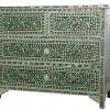 Green Mother of Pearl Chest of Drawers 3