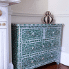 Green Mother of Pearl Chest of Drawers 6
