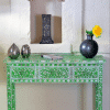 Green Mother of Pearl Dressing Table 5