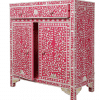 Pink Mother of Pearl Cabinet 2