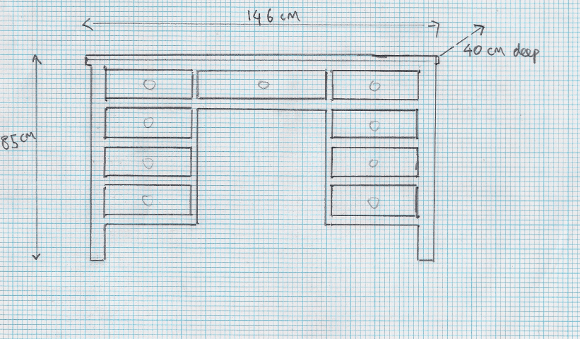 wDressing table