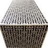 Black bone Tetris sideboard side