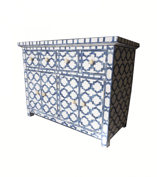 blue-and-white-bone-inlay-geometric-sideboard